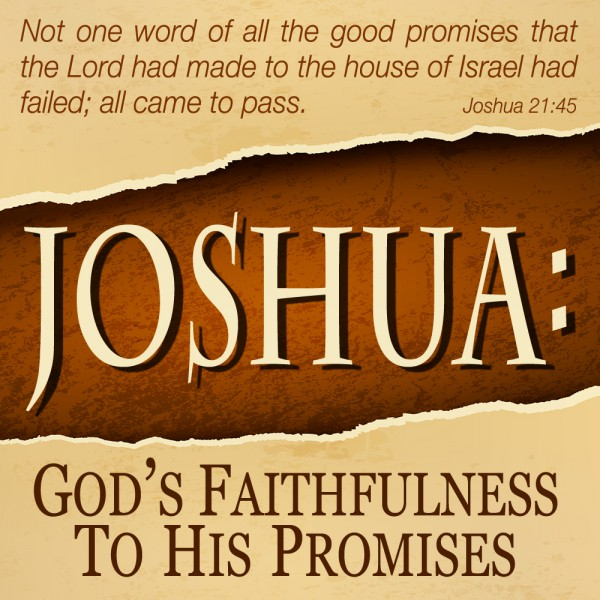 Joshua: God's Faithful Promise to His People Archives | St  Andrew's